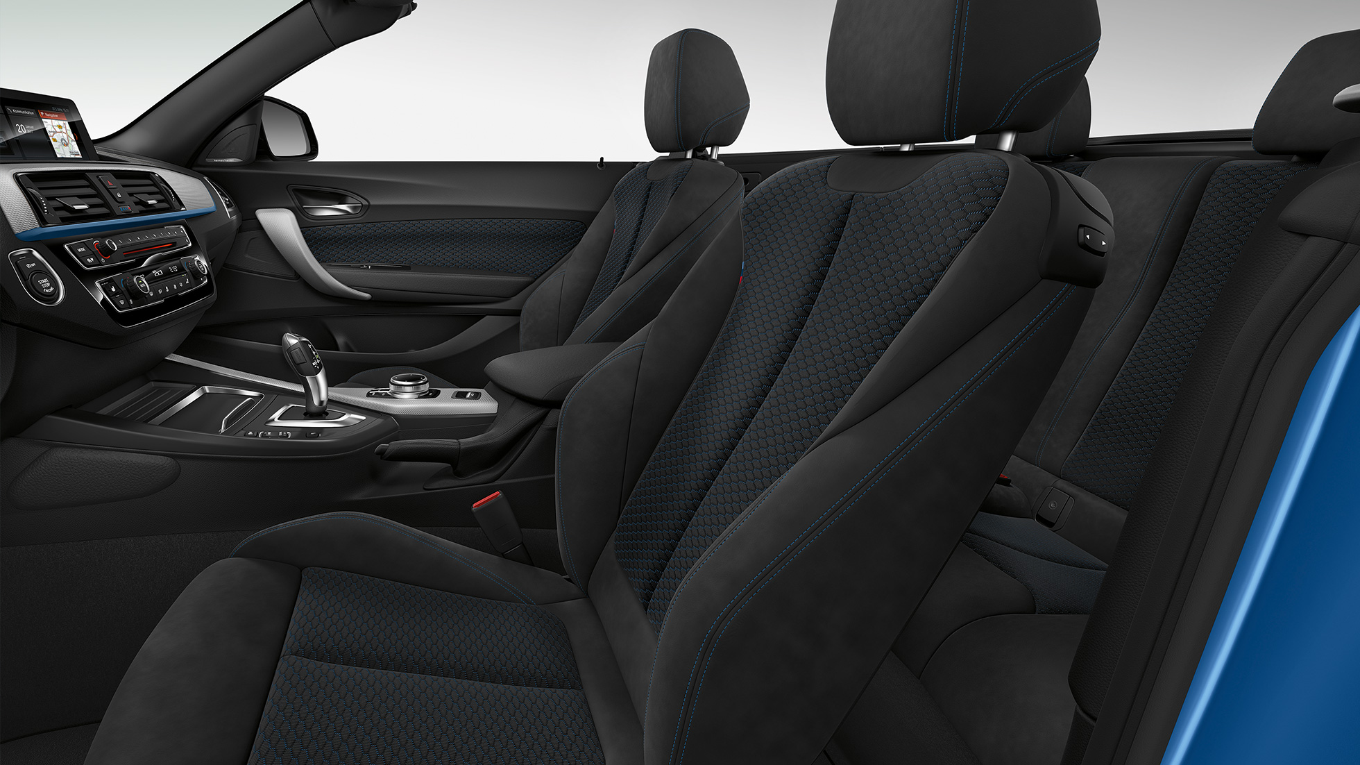 BMW 2 Serie Cabrio, Model M Sport interieur
