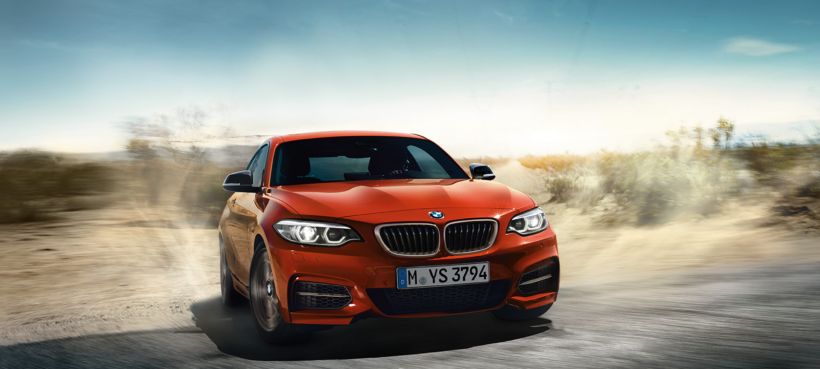 BMW 2 Serie Coupé, dynamische rijopname