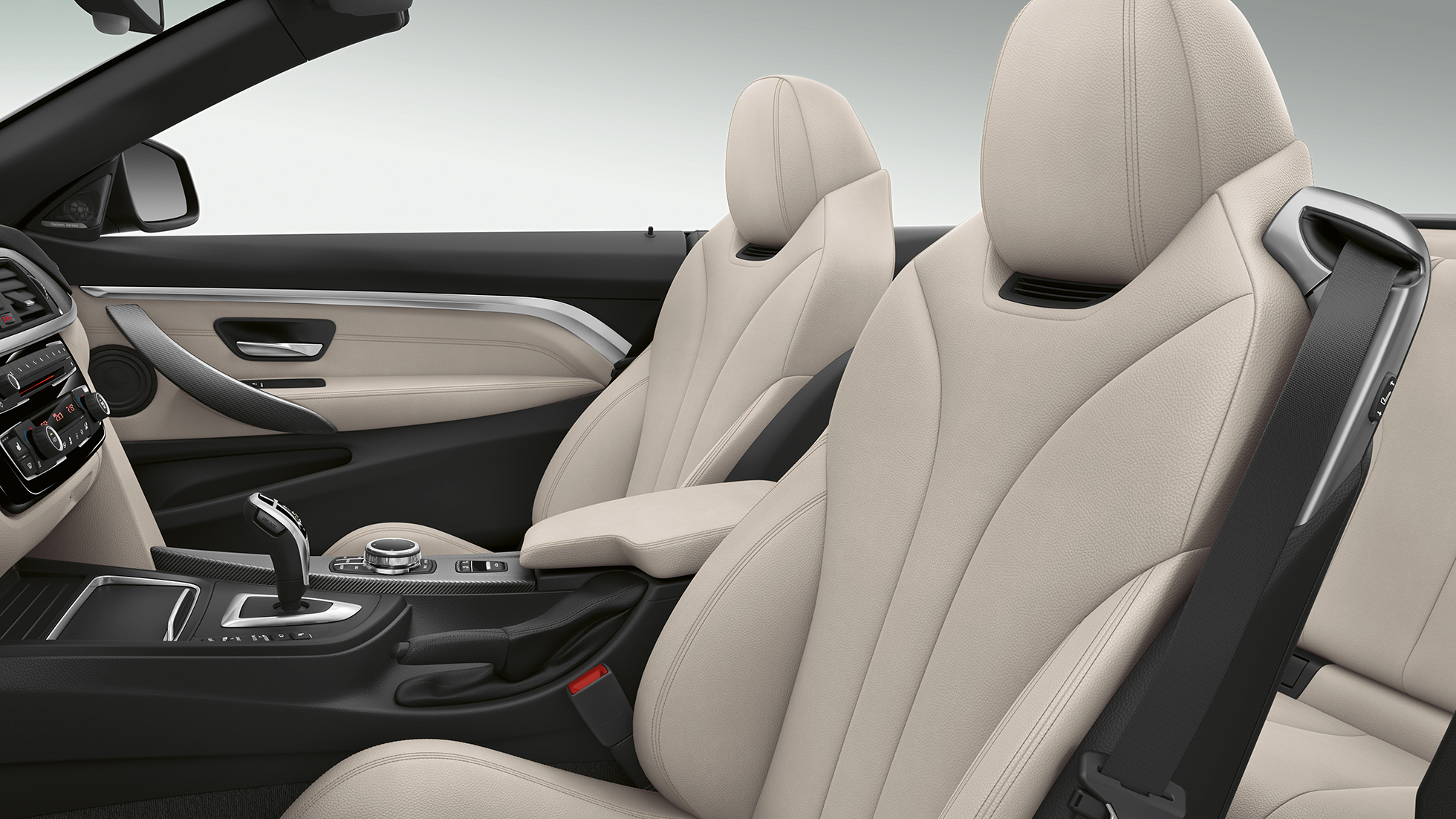 BMW 4 Serie Cabrio, Model Luxury Line interieur