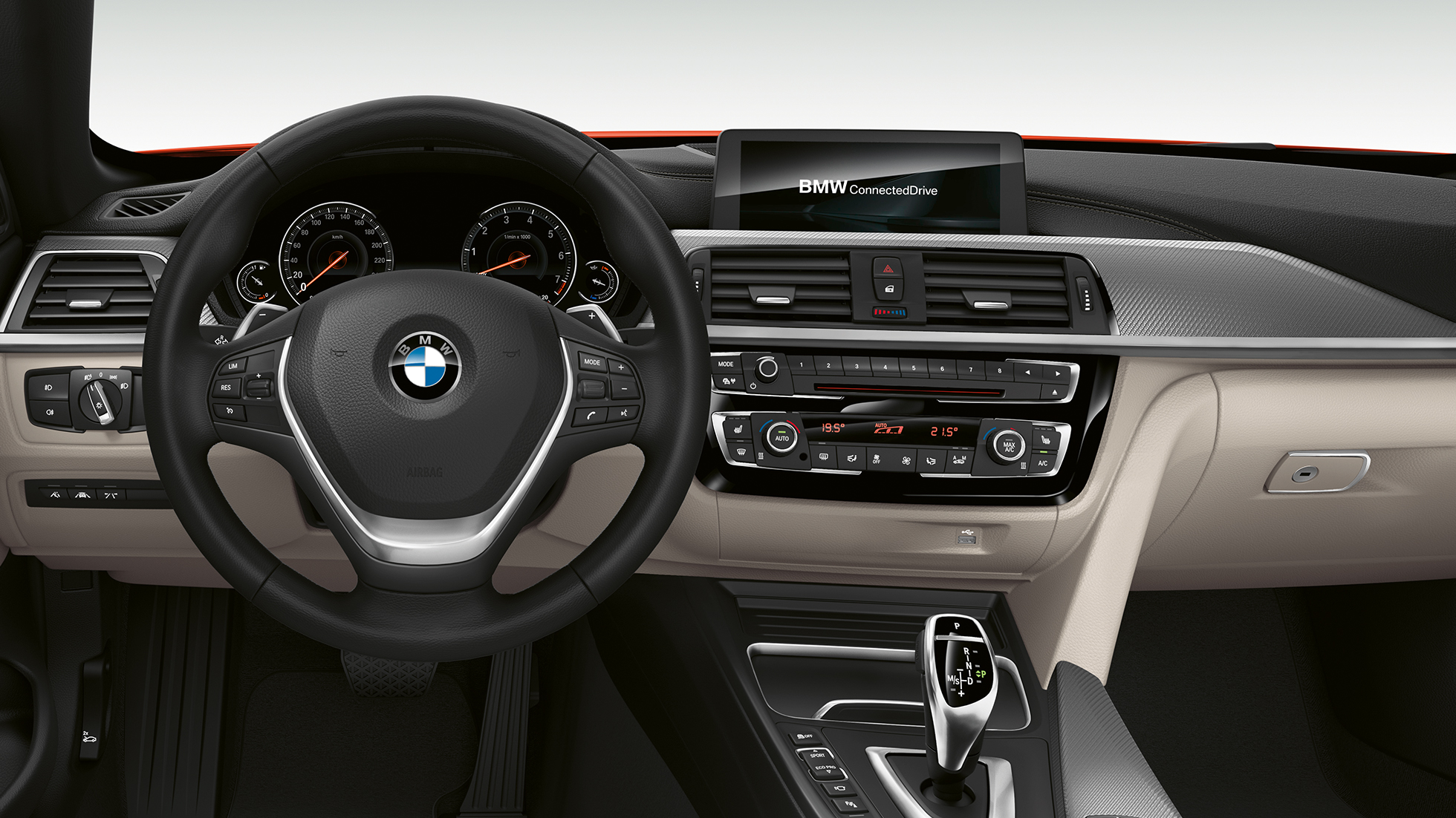 BMW 4 Serie Cabrio, Model Luxury Line cockpit