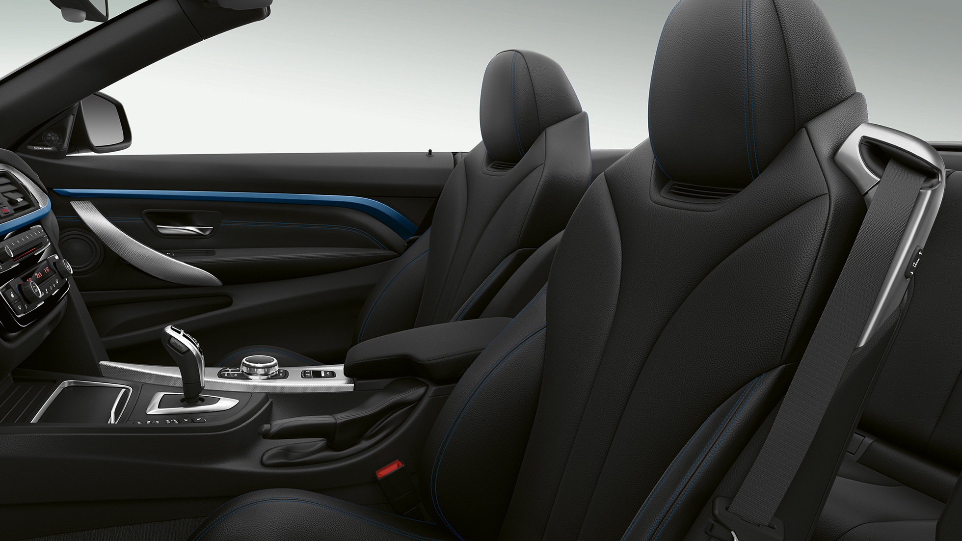 BMW 4 Serie Cabrio, Model M Sport interieur
