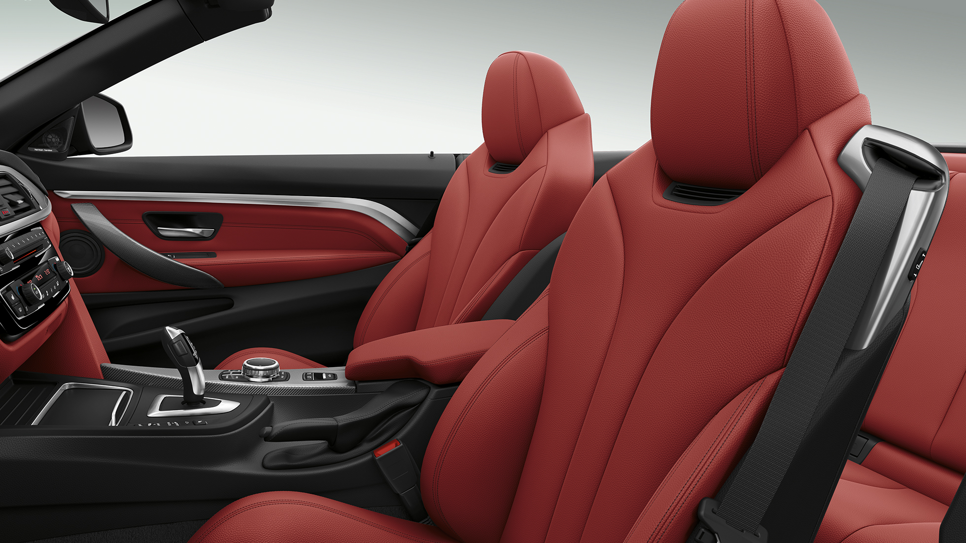 BMW 4 Serie Cabrio, Model Sport Line interieur
