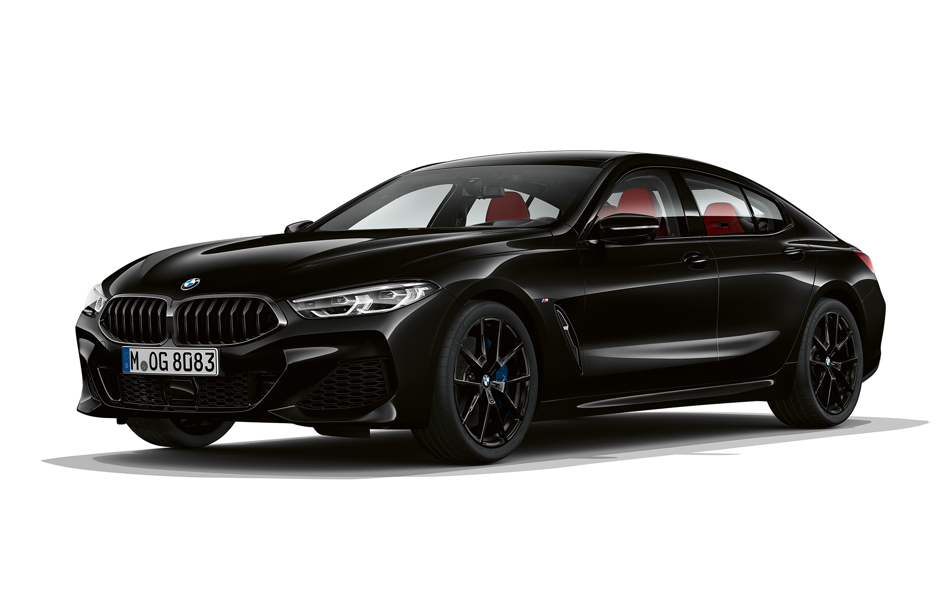 BMW 8 Serie Gran Coupé, Dark Seduction driekwart vooraanzicht