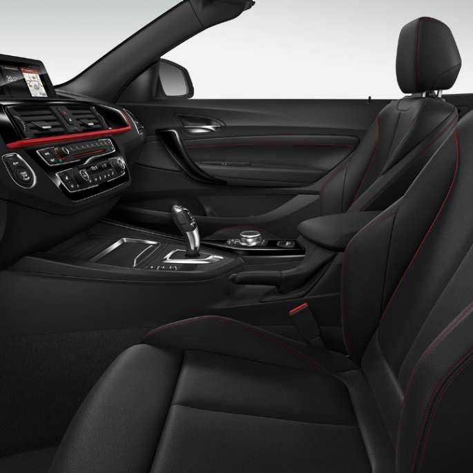 BMW 2 Serie Cabrio, Model Sport Line interieur